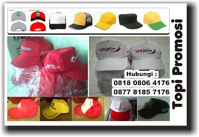 Menerima pesanan produksi berbagai jenis topi di Tangerang