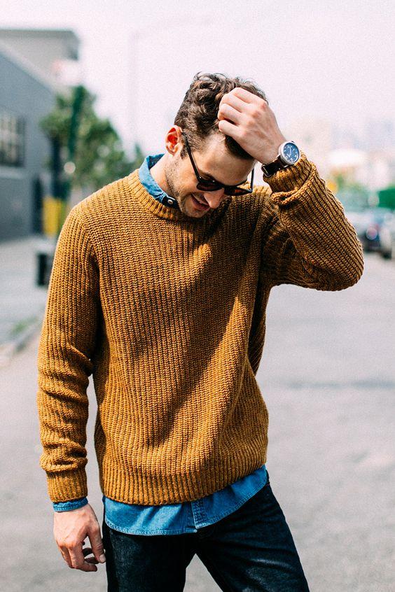 Macho Clothing Co: Blog De Moda Masculina: Camadas No Visual