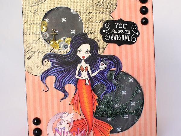 A Shakin' Pirate Mermaid
