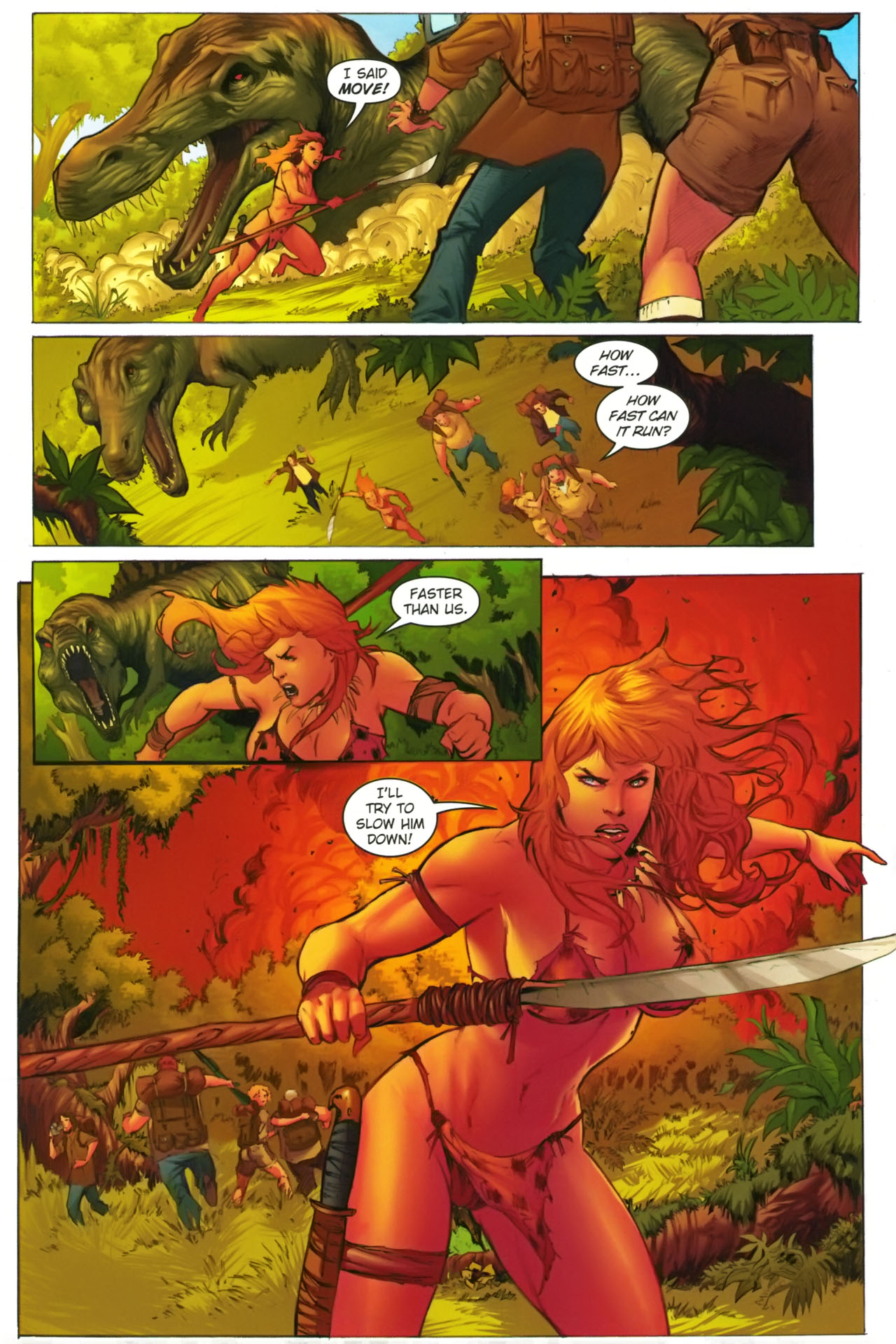 Read online Jungle Girl comic -  Issue #2 - 8