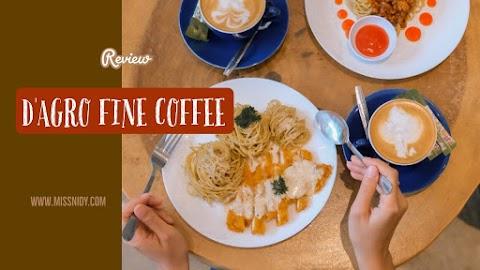 D'Agro Fine Coffee di Tengah Hiruk Pikuk Kuningan
