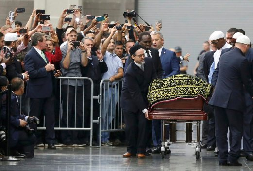 Ribuan hadir dalam Majlis Penghormatan terakhir Muhammad Ali