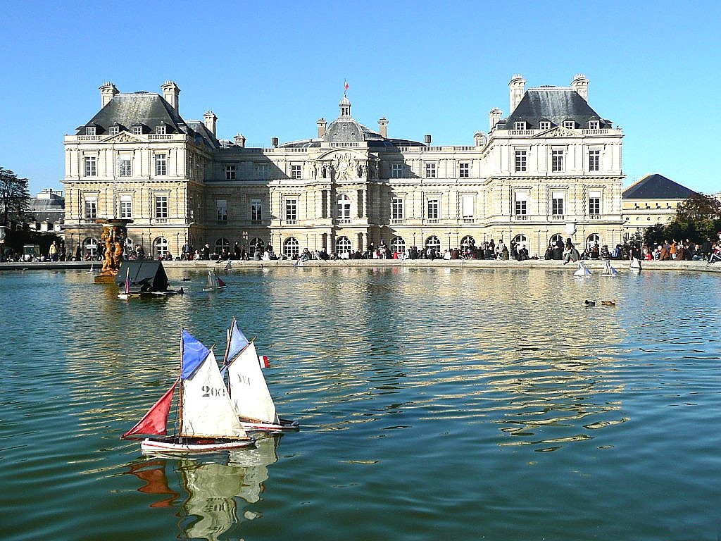 Art now and then the luxembourg gardens for Jardin du luxembourg