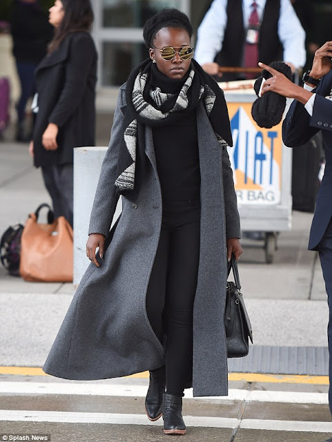 Lupita Nyong in London