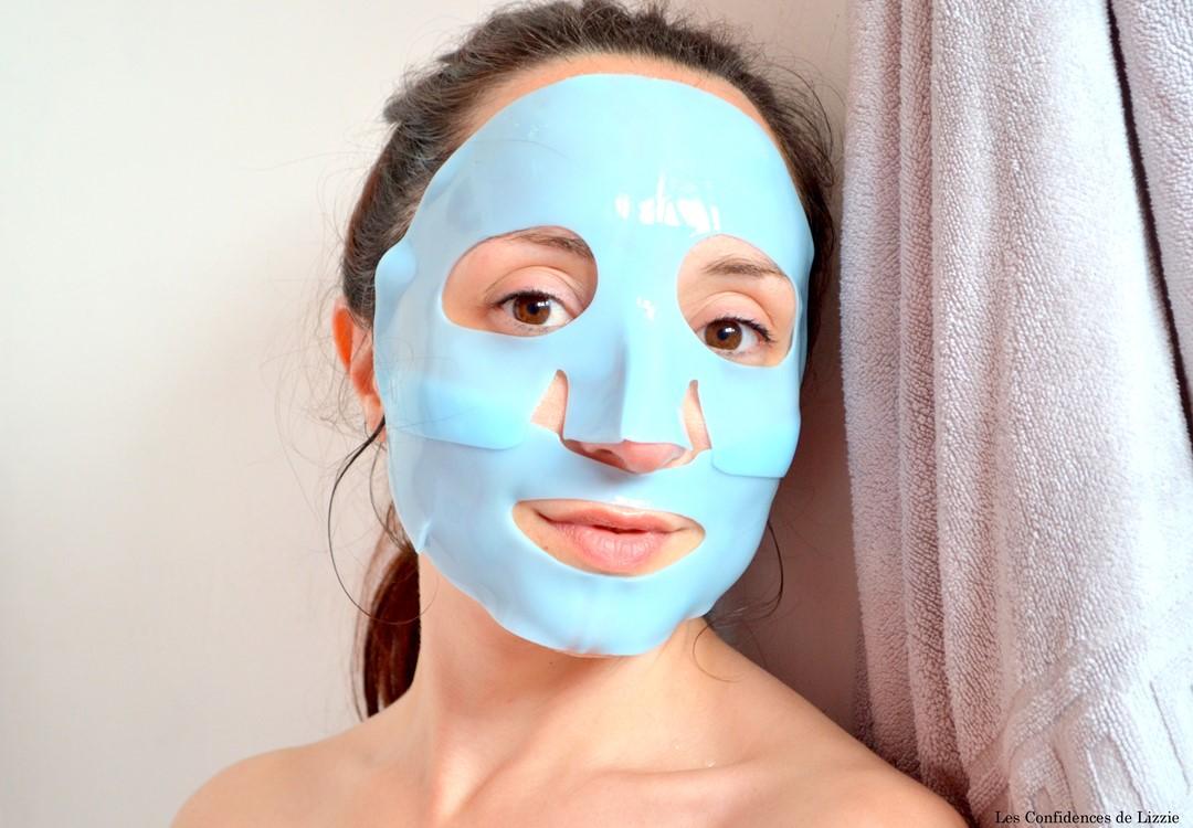 Mask - masque coréen - masque en alginate - masque efficace - masque à usage unique - masque en tissu - Dr Jart+