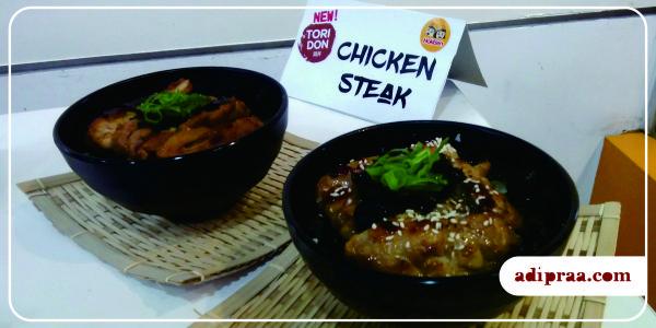 HokBen Tokyo Bowl Chicken Steak | adipraa.com