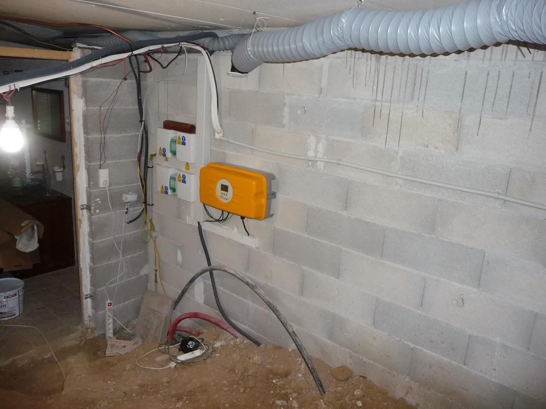 Condensation plafond for Vide sanitaire ou pas