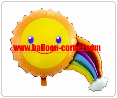 Balon Foil Sun Rainbow Mini