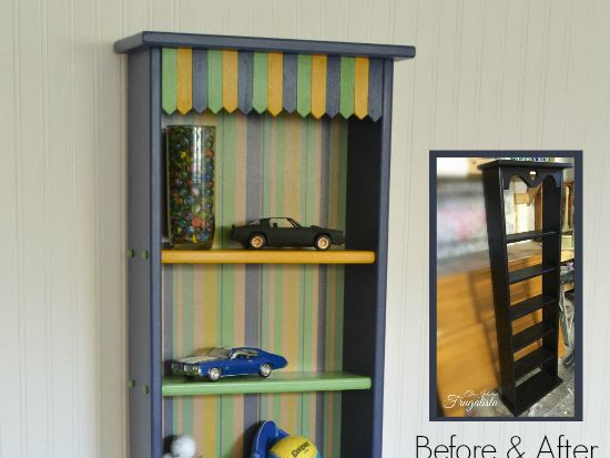 A Small Bookcase with Big Boy Personality