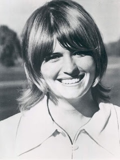 Golfer Kathy Ahern pictured in the 1970s