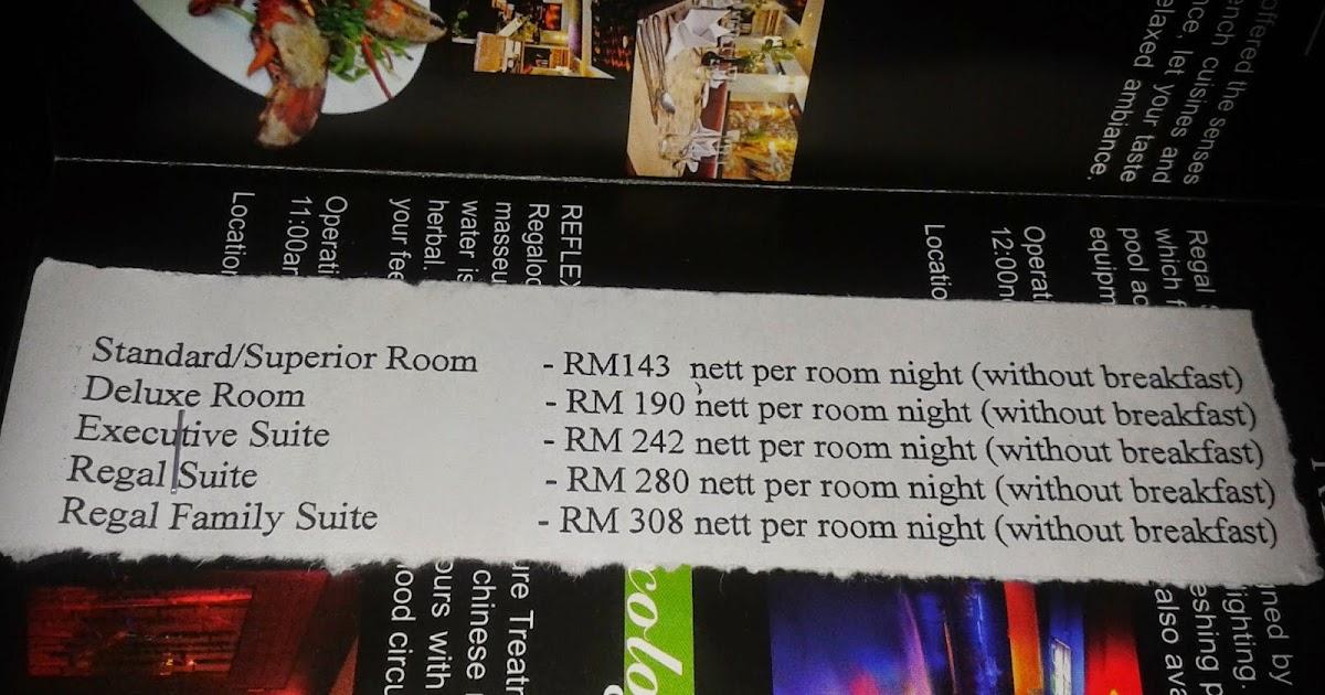 Masreena Regalodge Hotel Ipoh Yang Sangaaattt Best