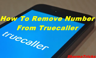 how to remove number from truecaller app