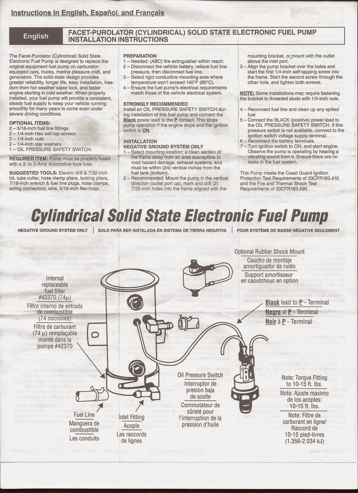 Facet Fuel Filters