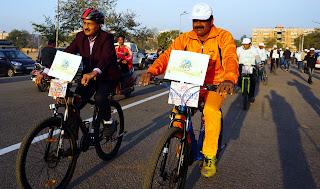 Saksham padel cyclothon