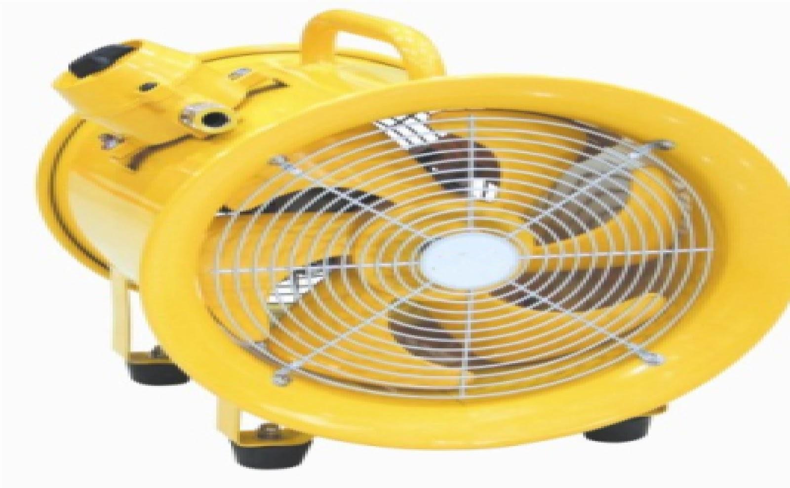 Portable ventilator explosen proof jual blower for Portable dust collector motor blower