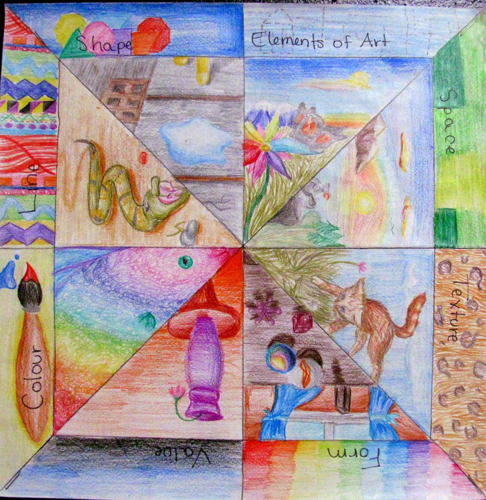 Ms Eaton S Phileonia Artonian Elements Of Art Radial Review