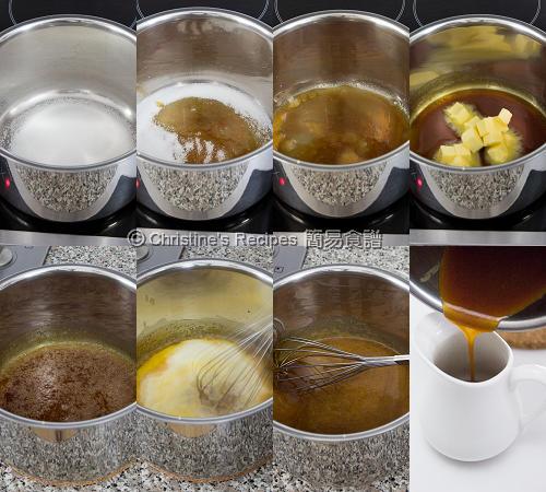 Caramel Sauce Procedures