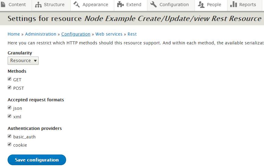 drupal-learn: Custom REST Resource with GET and POST Method