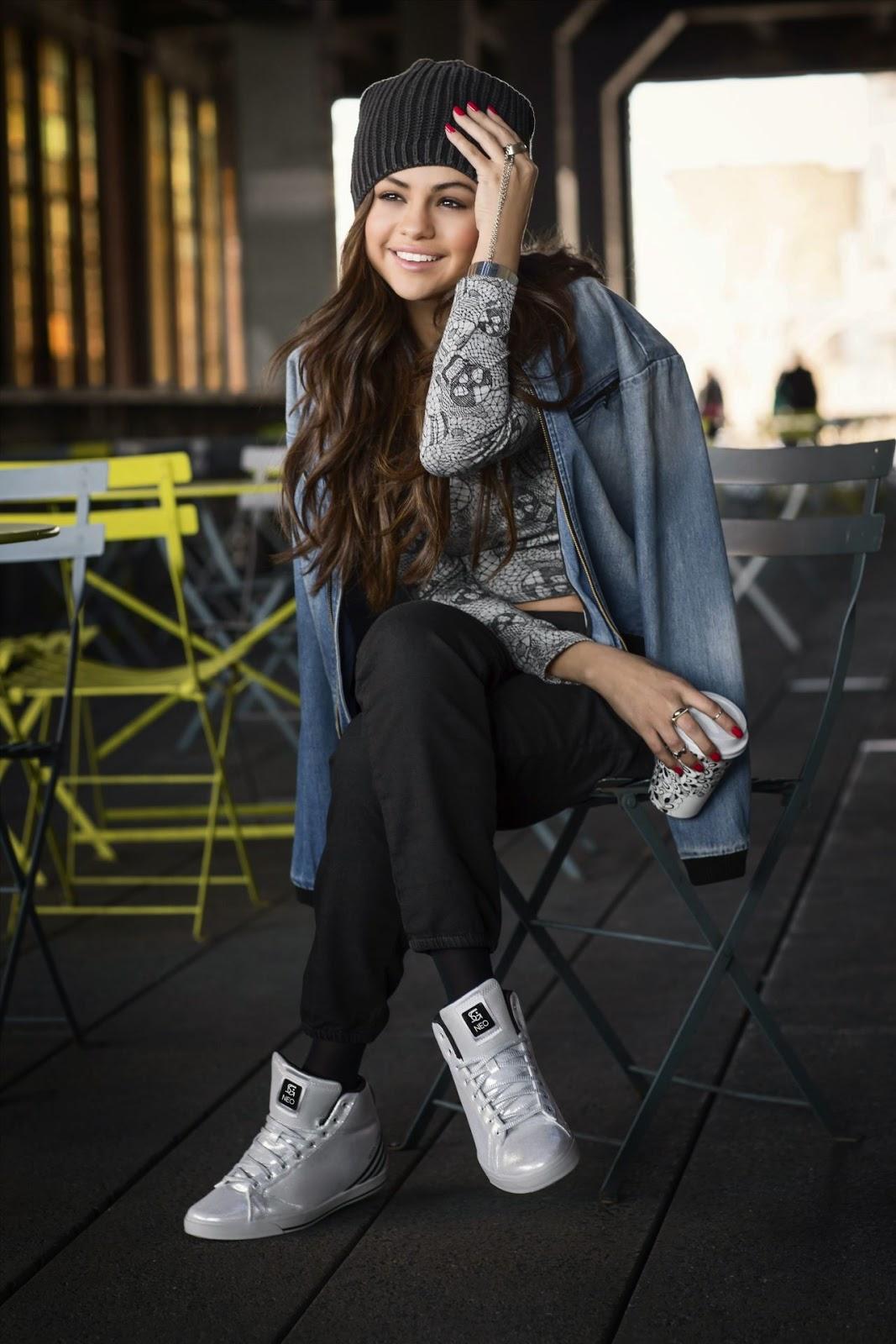 Selena Gomez Stars For The Adidas Neo Fall Winter 2014