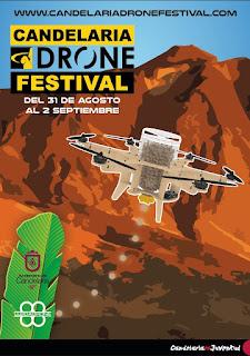 De nuevo rumbo a Tenerife para el Candelaria Drone Festival 2018