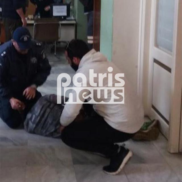 Πανικός στον Πύργο: Πήρε το ψαλίδι από γραφείο και άρχισε να μαχαιρώνεται στην κοιλιά