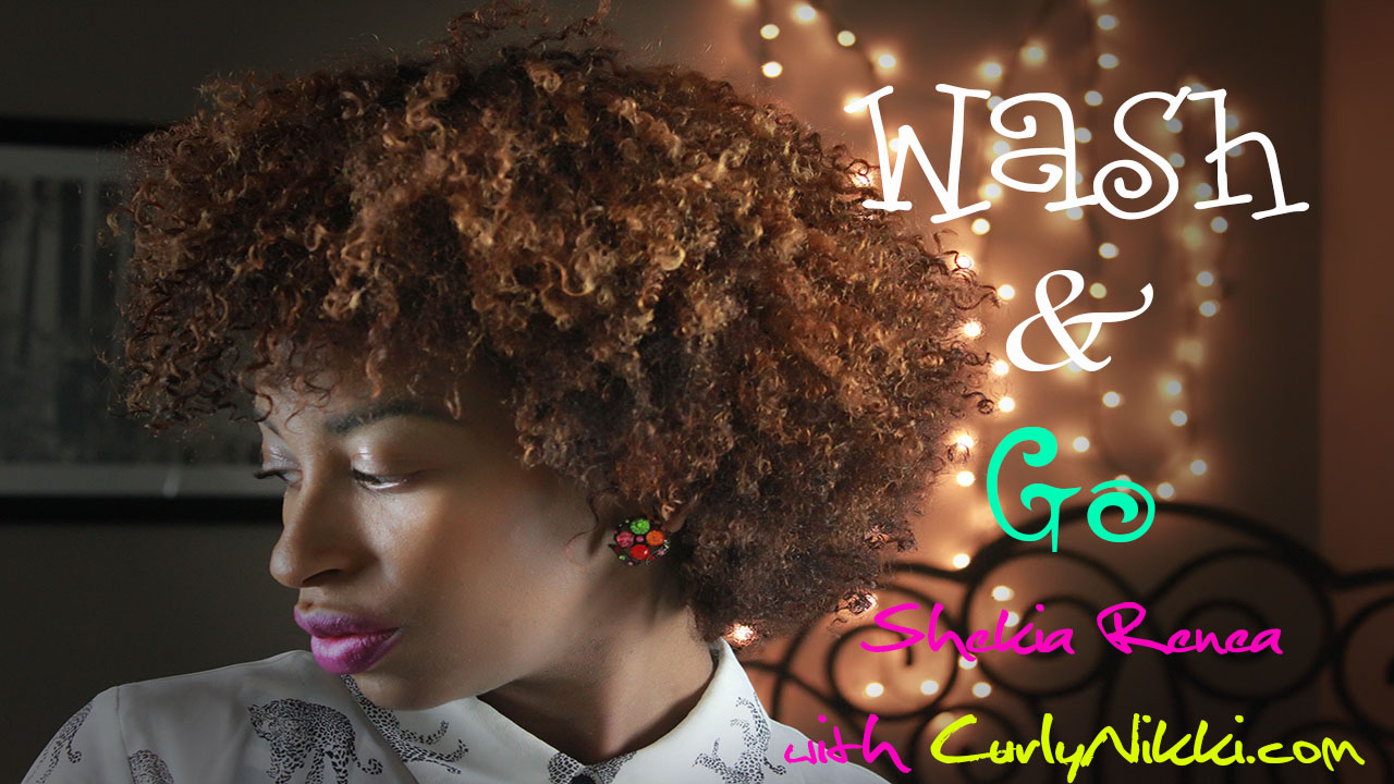 Surprising A Wash Amp Go Routine Natural Hair Styles Curlynikki Natural Short Hairstyles For Black Women Fulllsitofus