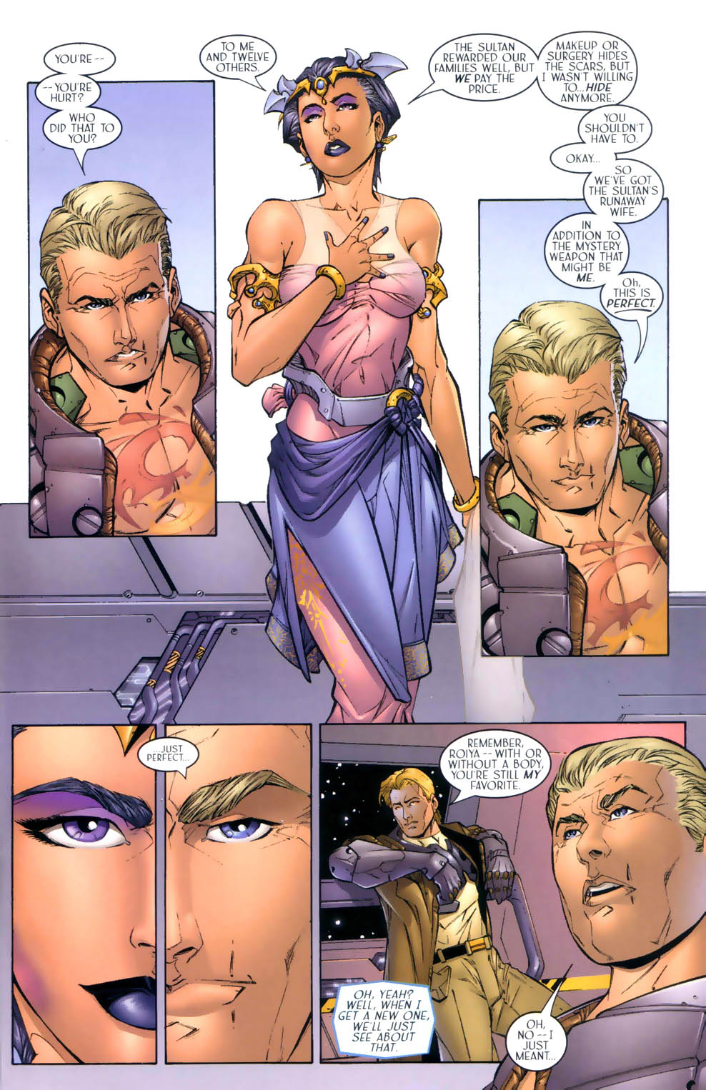 Read online Sigil (2000) comic -  Issue #3 - 10