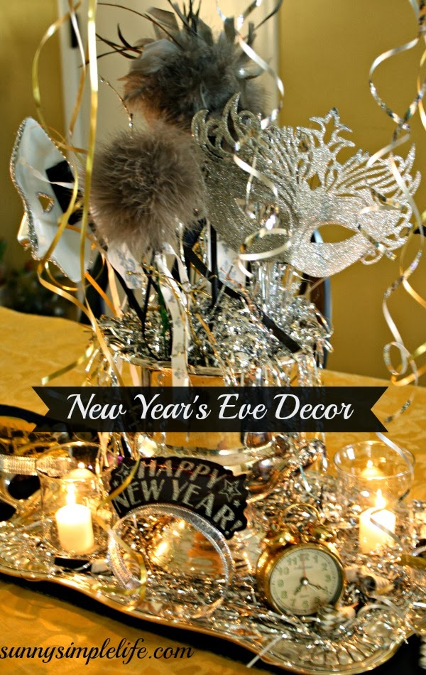 Sunny Simple Life: New Year's Eve Decor: The Dining Room
