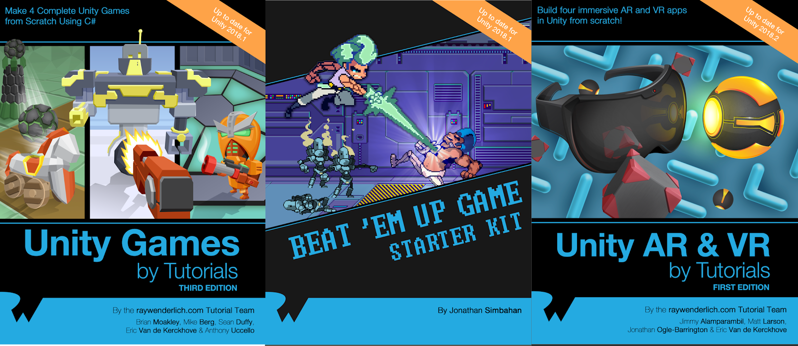 Mega Unity Bundle Ray Wenderlich Books - Programming Ebook