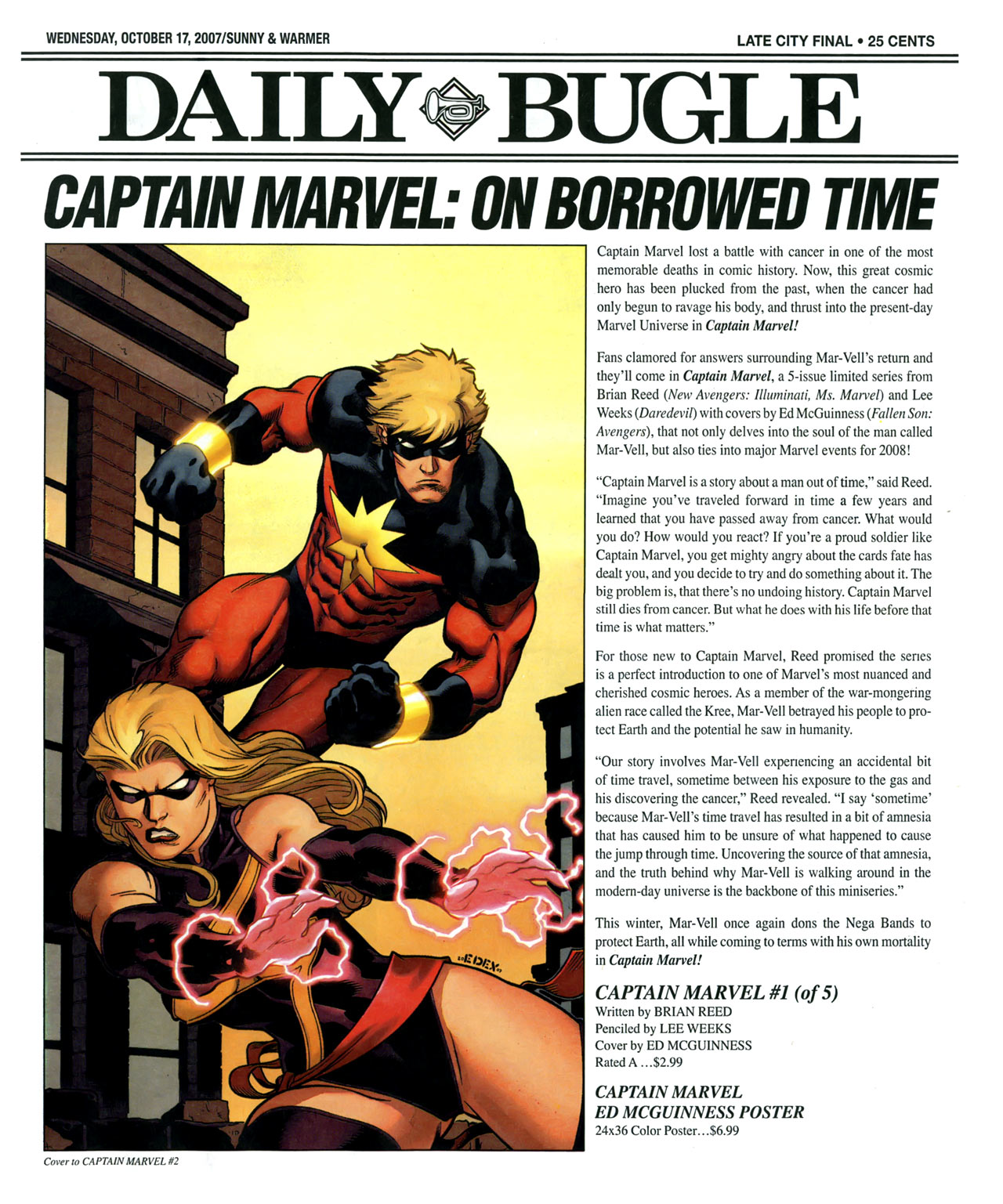 Read online Daily Bugle (2006) comic -  Issue #14 - 2
