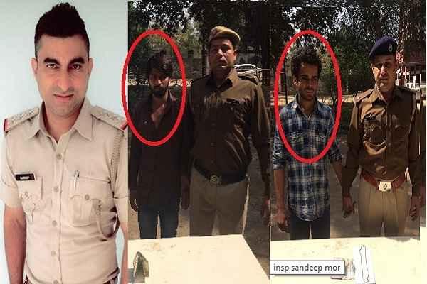 चोरों के पीछे हाथ धोकर पड़ गए सेक्टर 30 क्राइम ब्रांच के इंचार्ज संदीप मोर, दो चोरों को और दबोचा
