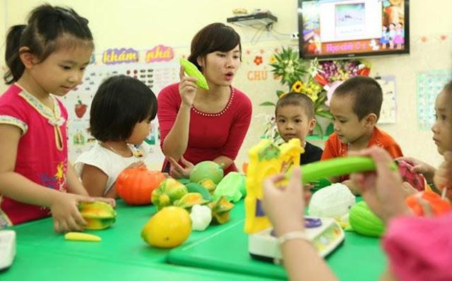 Chuẩn nghề nghiệp giáo viên mầm non gồm 5 tiêu chuẩn và 15 tiêu chí