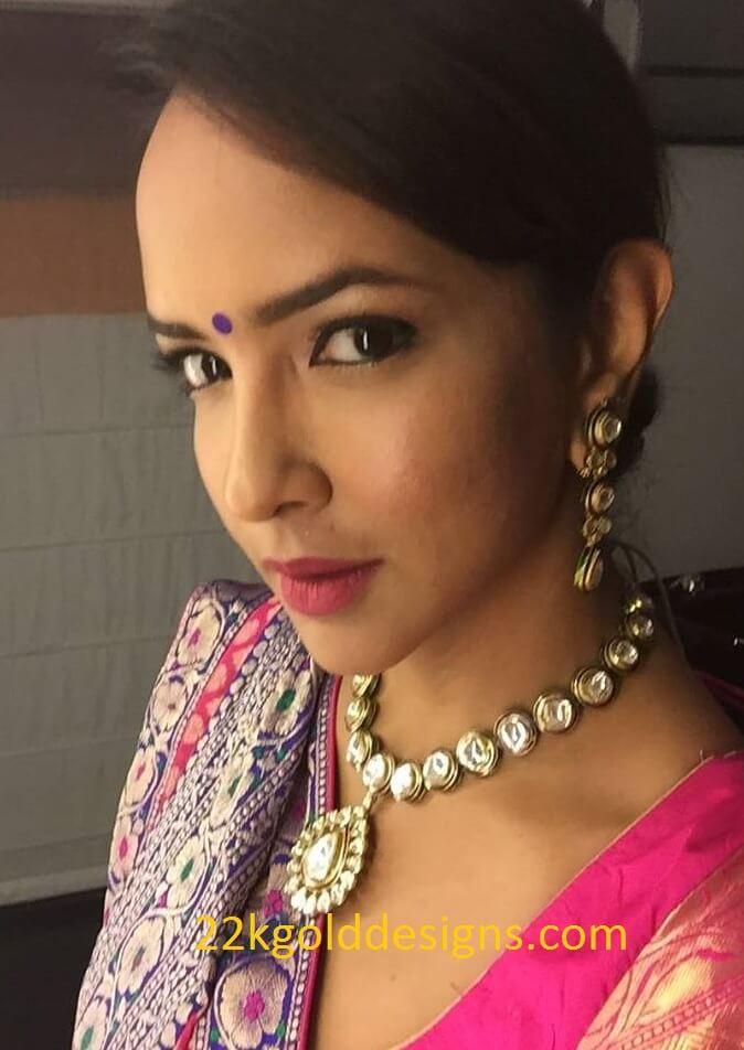 Lakshmi Manchu in Krsala Jewellery