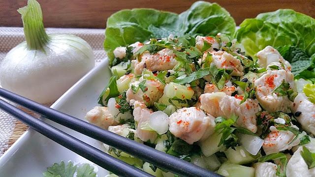 salade thailandaise laab kai