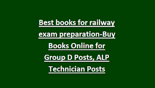 Best books for railway exam preparation-Buy Books Online for Group D Posts, ALP Technician Posts