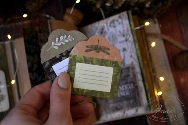 "блокнот, notebook, ScrapМир, Cozy Forest, студия ""Эклю"", @irina_koshchavtseva @dasha_tarasova @studio_eklyu"
