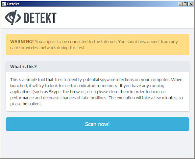 تحميل وشرح برنامج detekt لمعرفة هل جهازك مخترق أم لا ؟