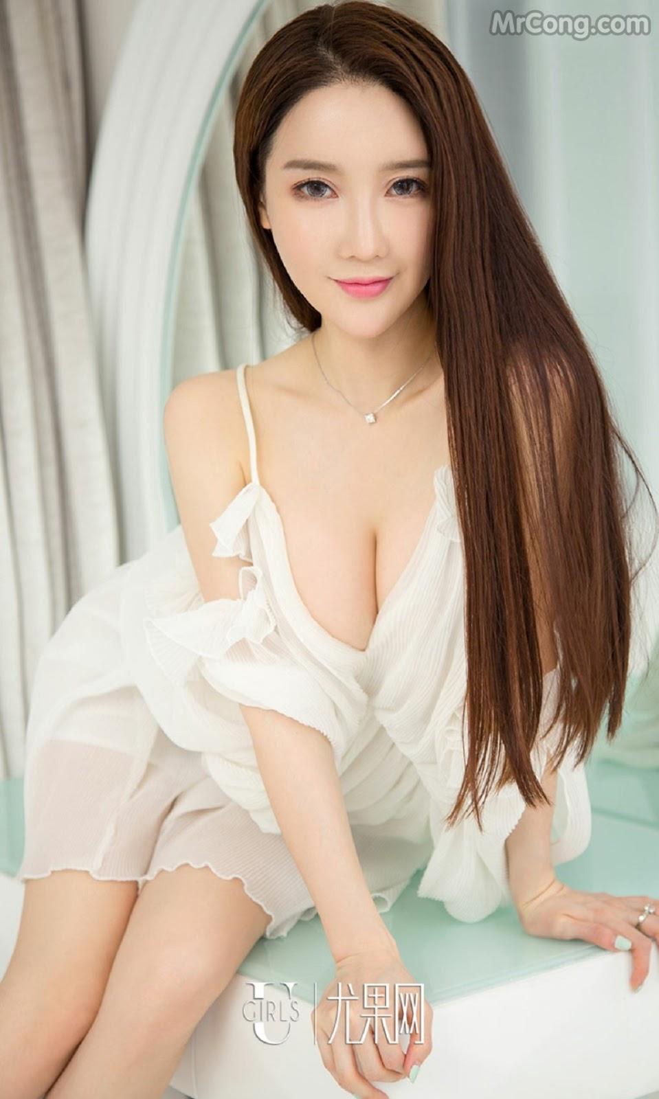 Image UGIRLS-Ai-You-Wu-App-No.733-Xia-Mei-MrCong.com-010 in post UGIRLS – Ai You Wu App No.733: Người mẫu Xia Mei (夏美) (39 ảnh)