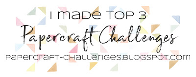 Top 3 at Papercraft Challenges