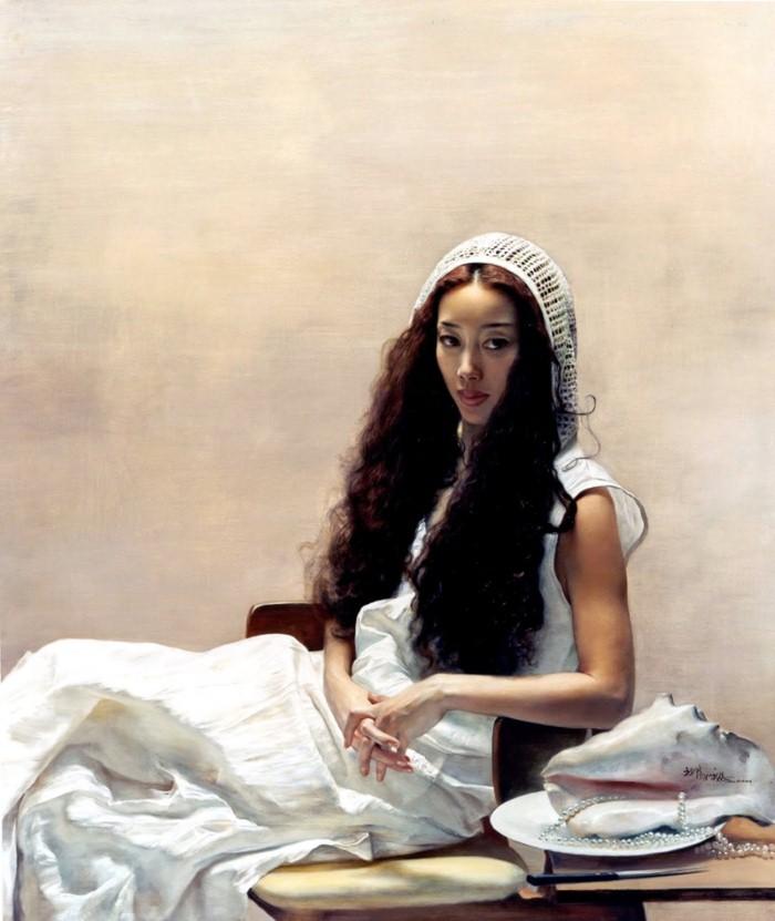 Yuqi Wang. Чувственные и сильные картины 19