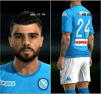 PES 2013 Insigne Face With Tattoo 2018