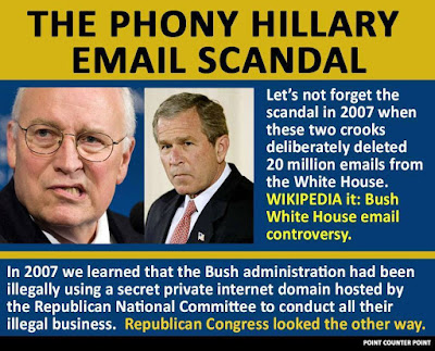 Image result for bush's lost emails