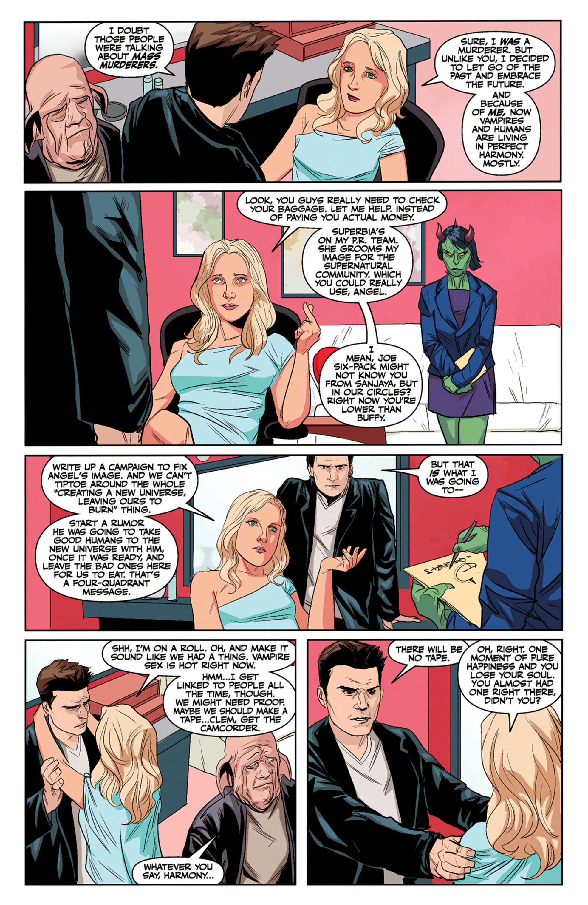 Read online Angel and Faith comic -  Issue #5 - 16