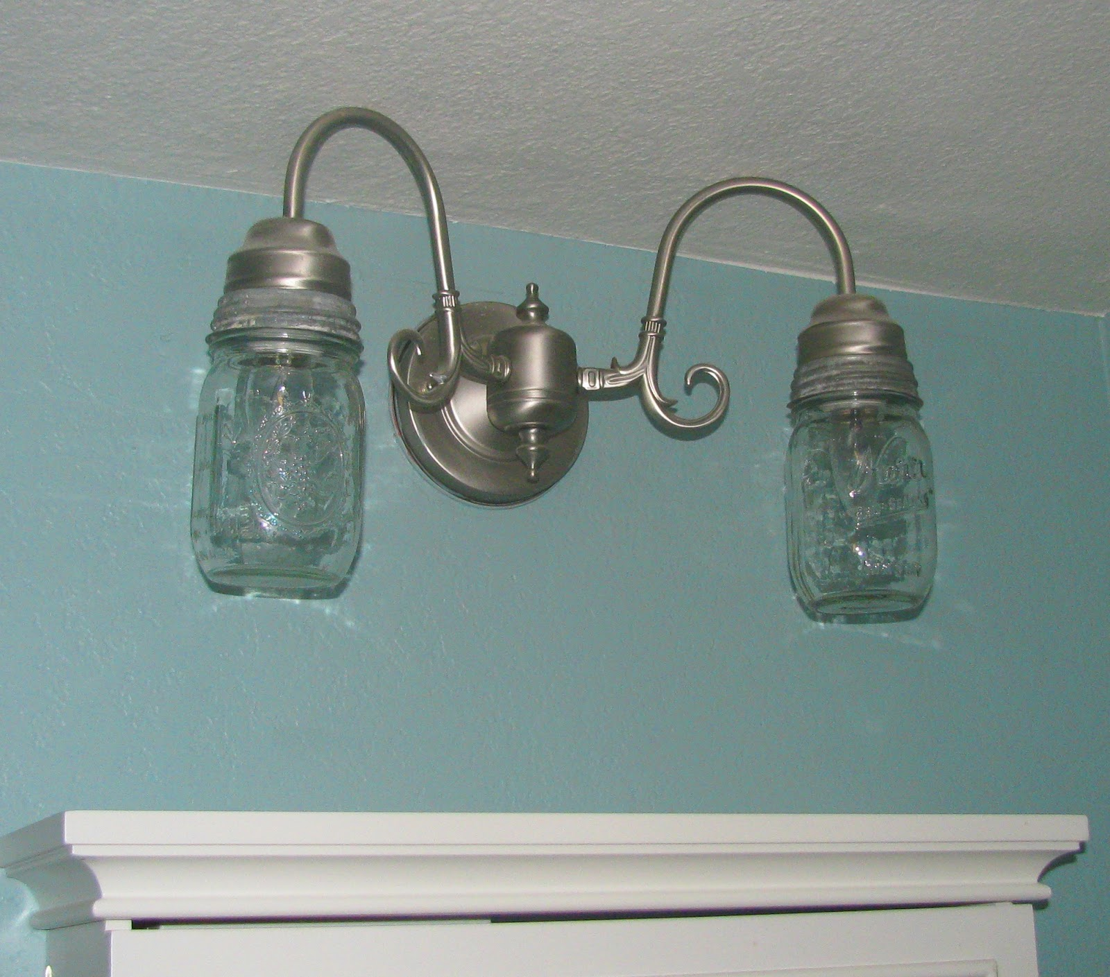 Finest My 3 Monsters: {Couldn't Be Easier} Mason Jar Lamp Makeover IB32