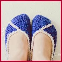 zapatillas a crochet