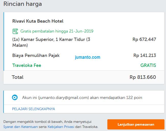 memesan hotel murah di bali lewat traveloka