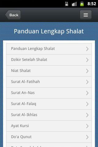 Panduan Shalat Lengkap - Bacaan Sholat dan Tata Cara ...