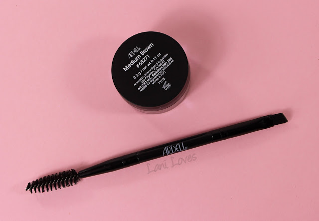 Ardell Pro Brow Pomade - Medium Brown Swatches & Review