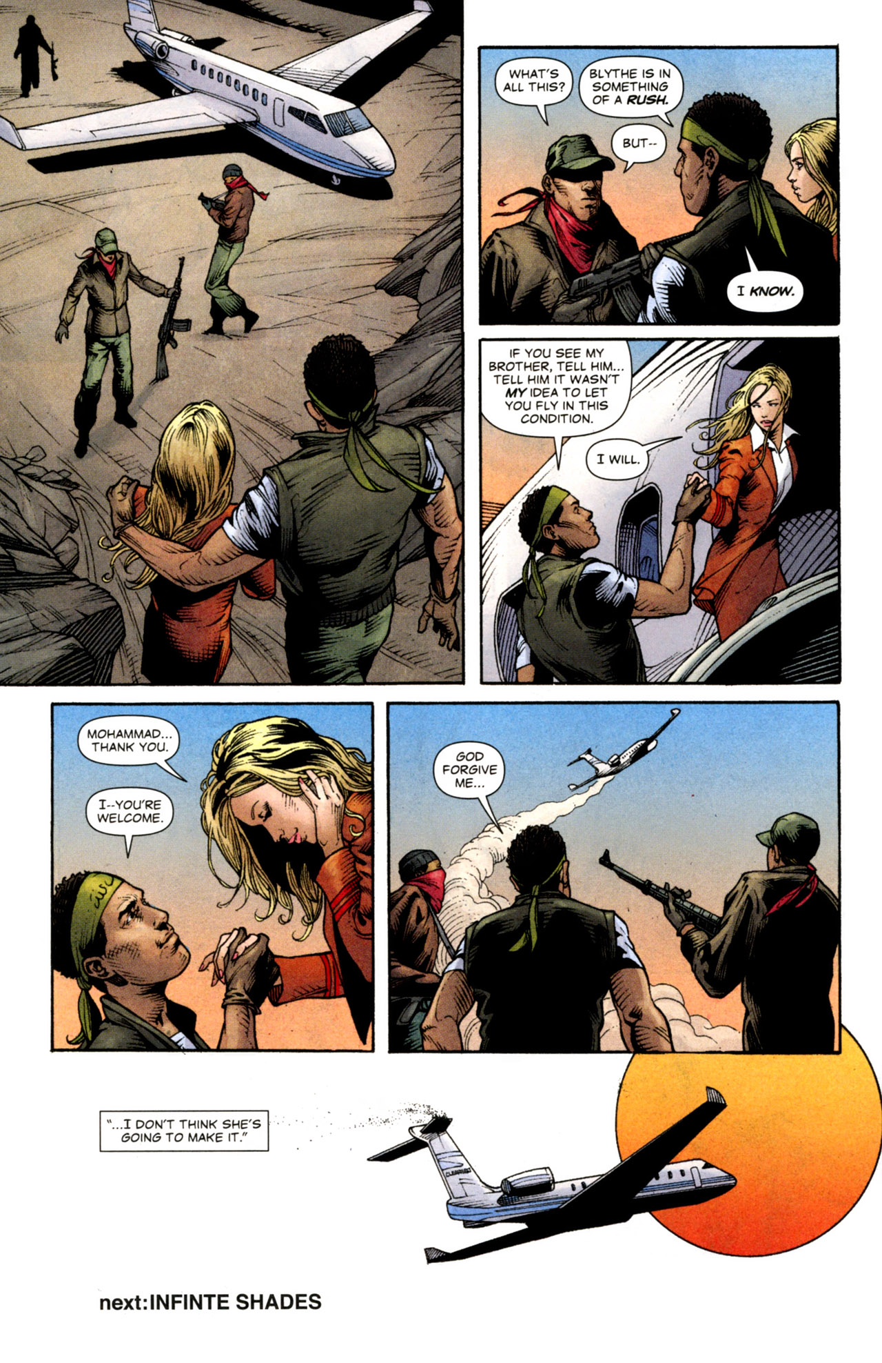 Read online Air comic -  Issue #14 - 22