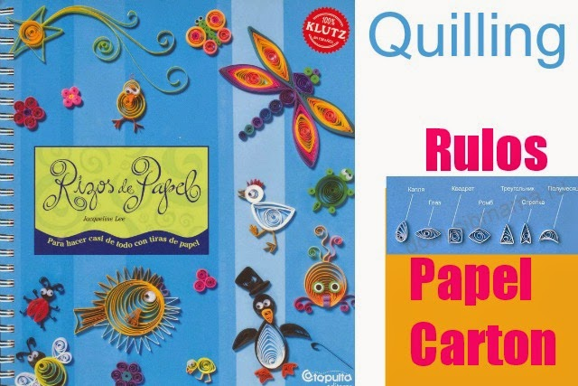 rulos papel, quilling, tecnicas, manualidades